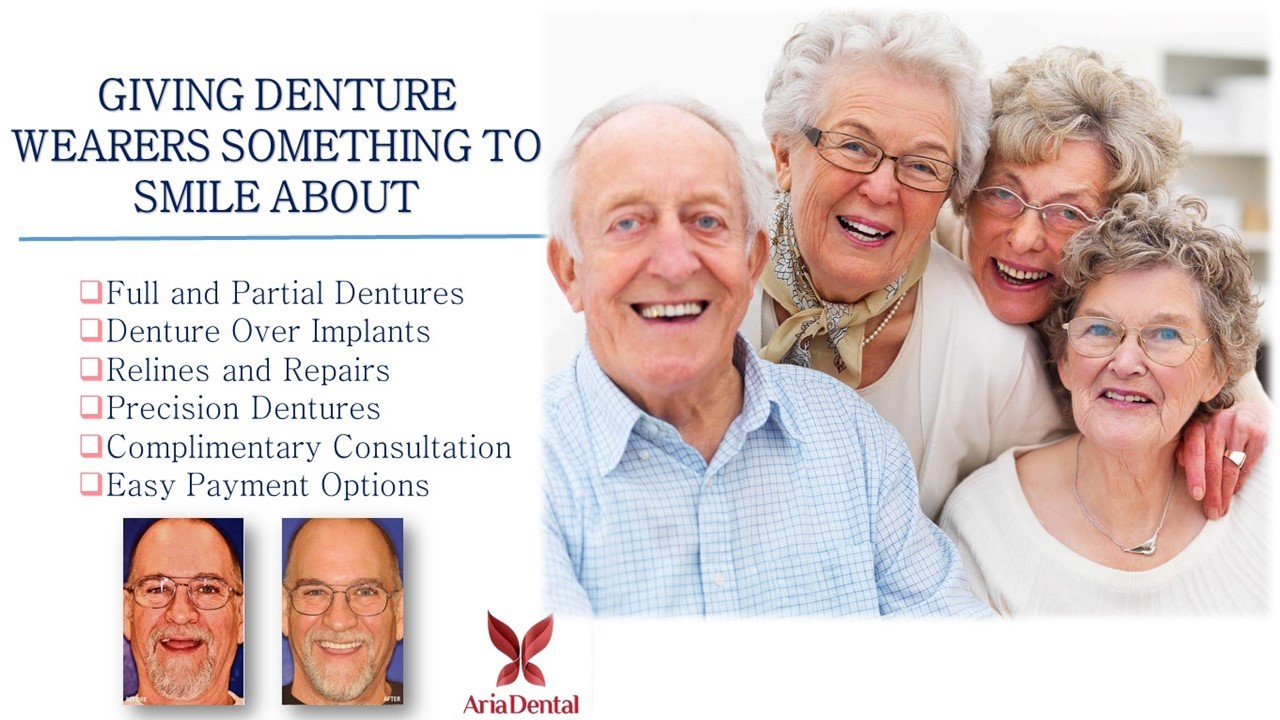 Dentures - Aria Dental | Mission Viejo CA